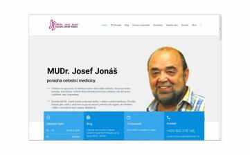 Nové stránky poradny MUDr. Josefa Jonáše