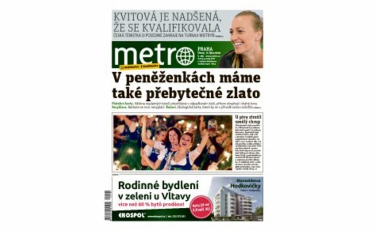 Článek MUDr. Jonáše v příloze Zdraví deníku Metro
