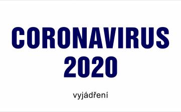 Vyjádření ke Coronaviru