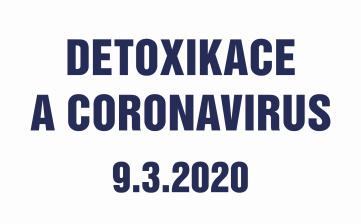 Detoxikace a coronavirus
