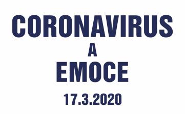 Coronavirus a emoce